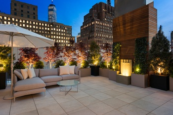 TriBeCa Triplex Penthouse With Five Gardens