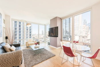STARCHITECT COSTAS KONDYLIS DESIGNED PLATINUM Condominium at 247 WEST 46th STREET PERFECT NW CORNER ONE BEDROOM coveted SALE OFFERING